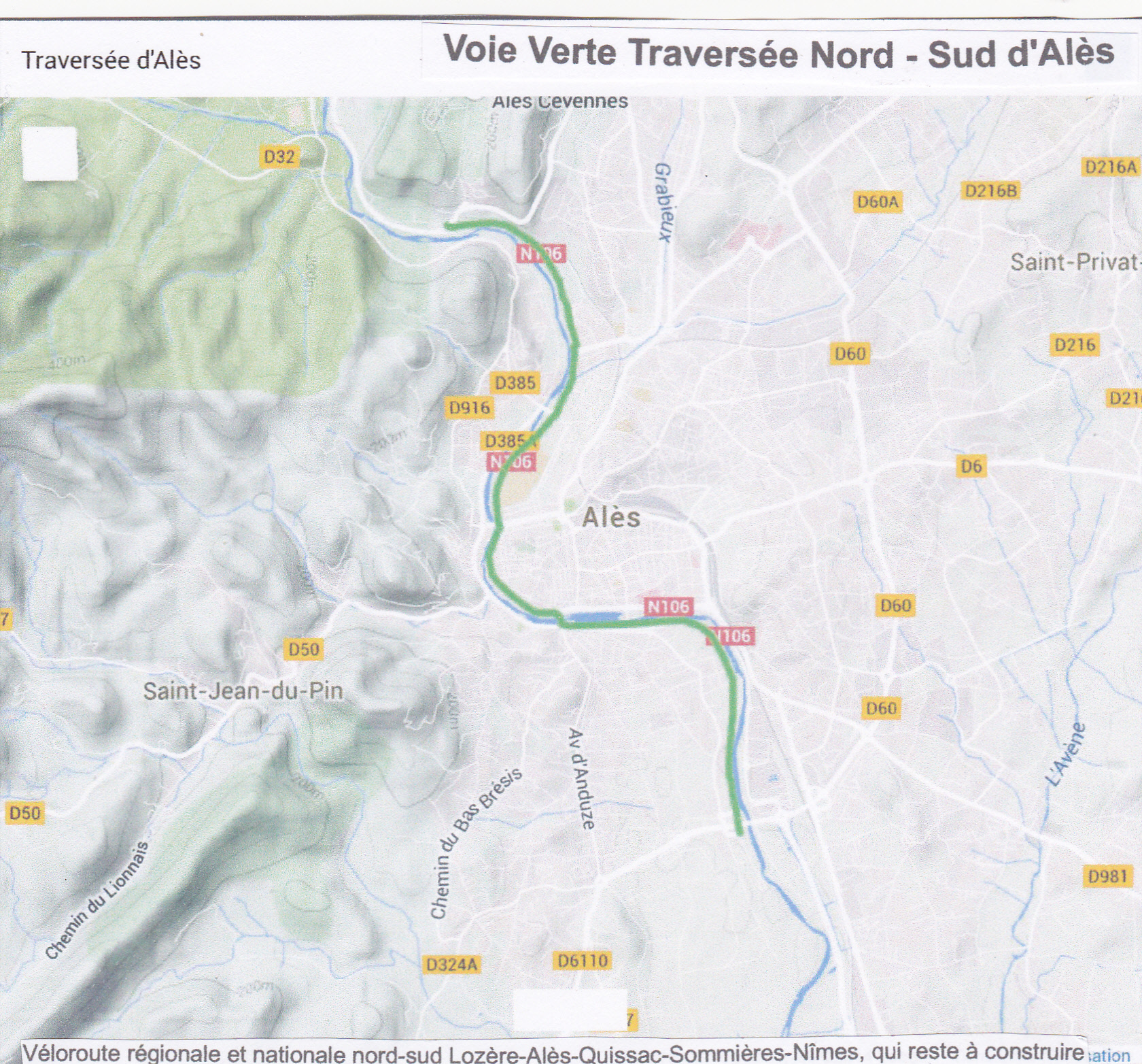 VV Traversee d'Alu00E8s Plan
